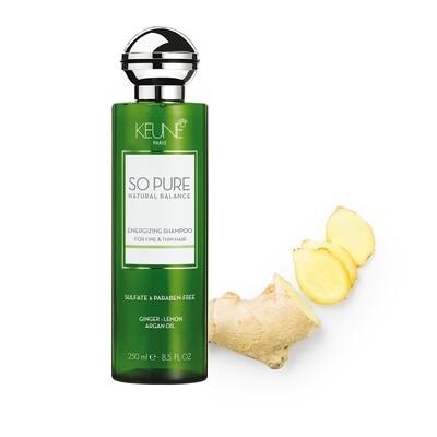 KEUNE So Pure energizuojantis šampūnas Energizing