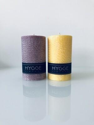 HYGGE apvalių kvepiančių žvakių rinkinys