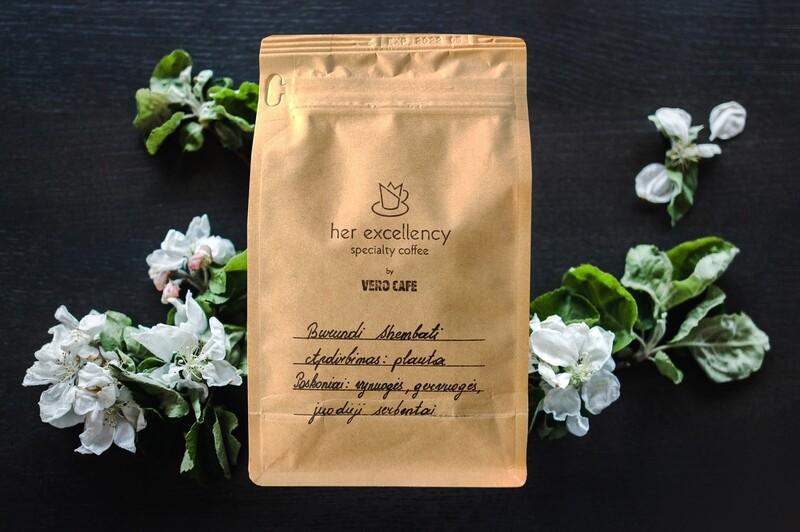 Rūšinė kava Burundi Shembati (malta)