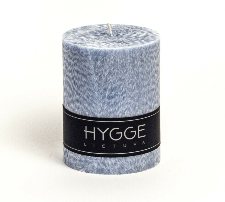 HYGGE žydra kvepianti žvakė