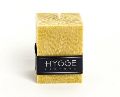 HYGGE medaus spalvos kvepianti žvakė