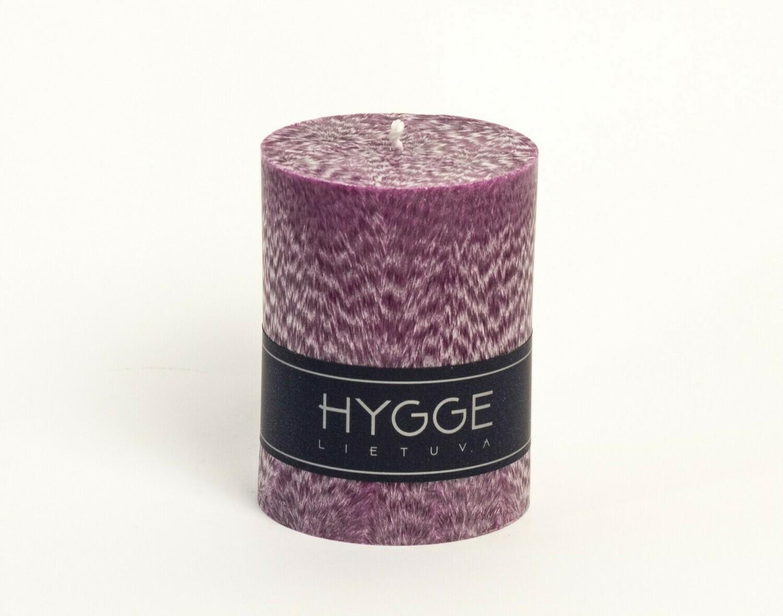 HYGGE violetinė kvepianti žvakė