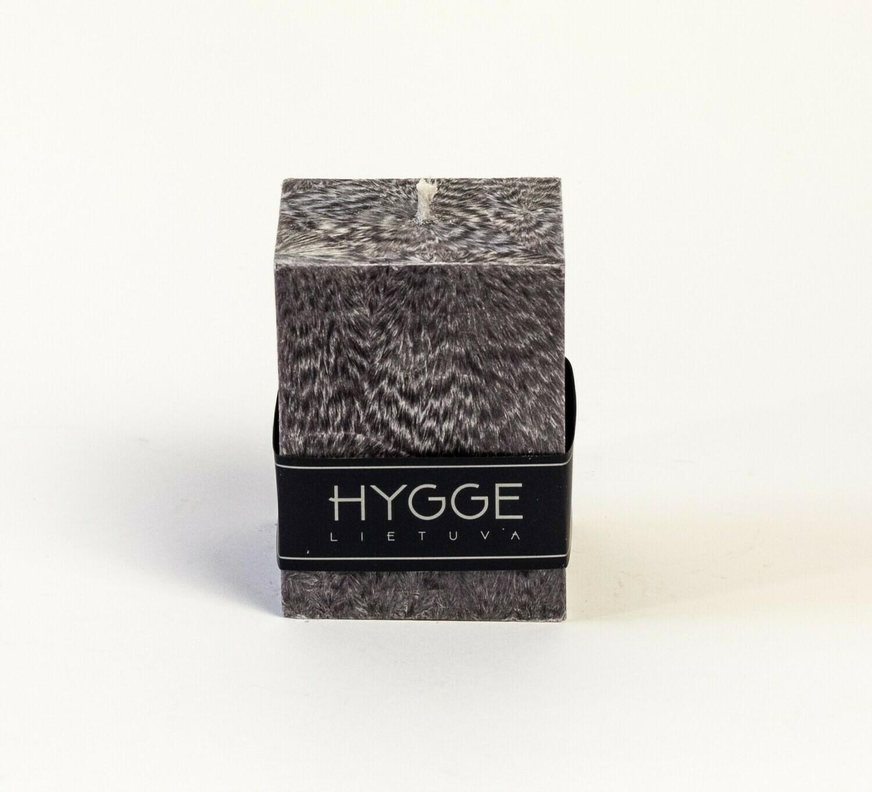 HYGGE pilka kvepianti žvakė
