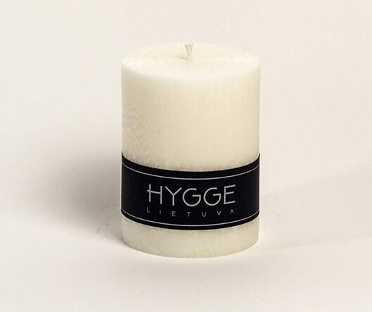 HYGGE balta kvepianti žvakė