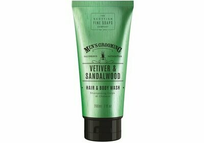 Vetiver & Sandelwood Hair & Body Wash