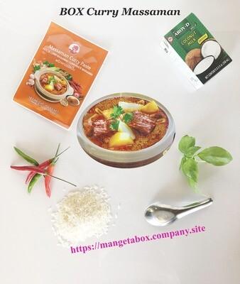 BOX Curry Massaman