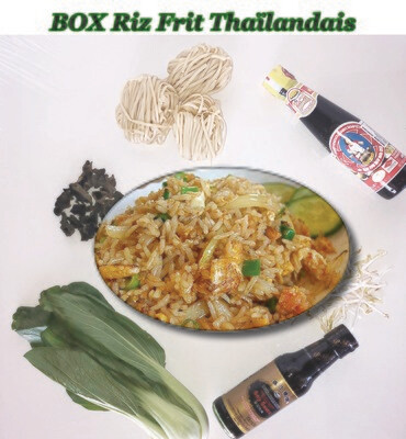 BOX Riz Frit Thaïlandais