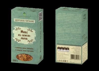 Семена льна (микс), 200 г