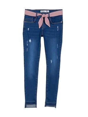 Tiffosi Girls Stretch Denims With Belt (10033929)