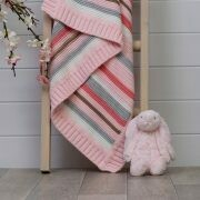 Ziggle Striped Baby Blanket