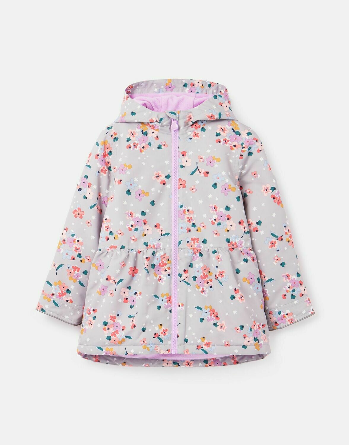 Joules Girls Raindrop Coat