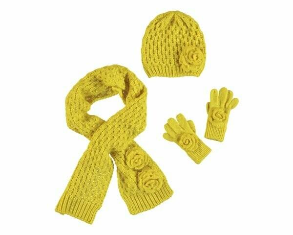 Mayoral Girls Hat & Snood Set K (10897)
