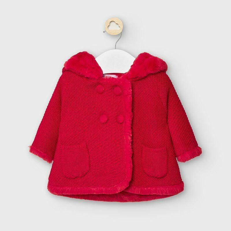 Mayoral Baby Girls Knit Coat (2337)