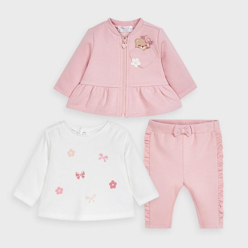 Mayoral Baby Girls 3 Piece Set (2630)