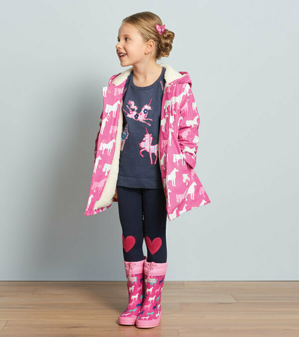 Hatley Horses Colour Changing Coat