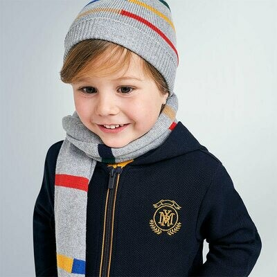 Mayoral Boys Hat & Scarf Set K(10894)