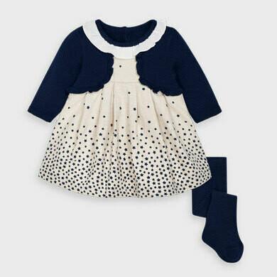 Mayoral Baby Girls Dress Set (2869)