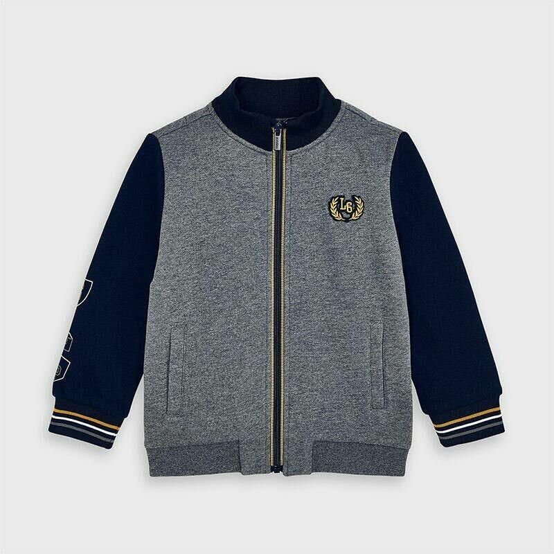 Mayoral Boys Zip Sweatshirt (4484)