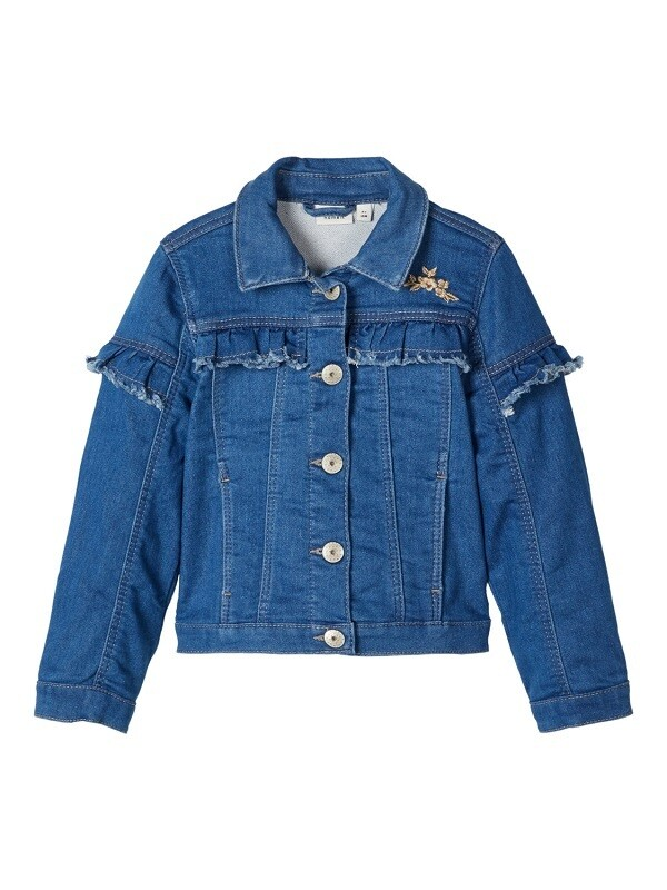 Name It Girls Denims Jacket M(13173976)