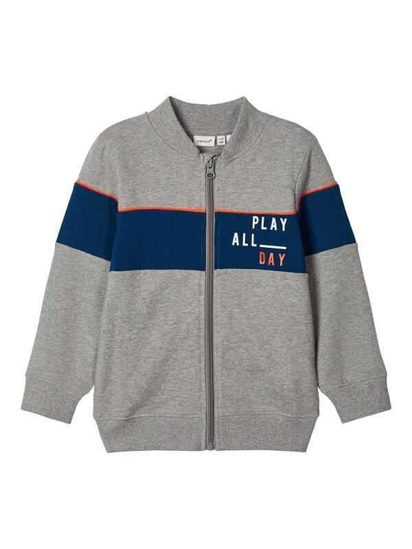 Name It Boys Zipped Sweatshirt M(13182091)