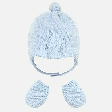 Mayoral Baby Boy Hat Set (9178)