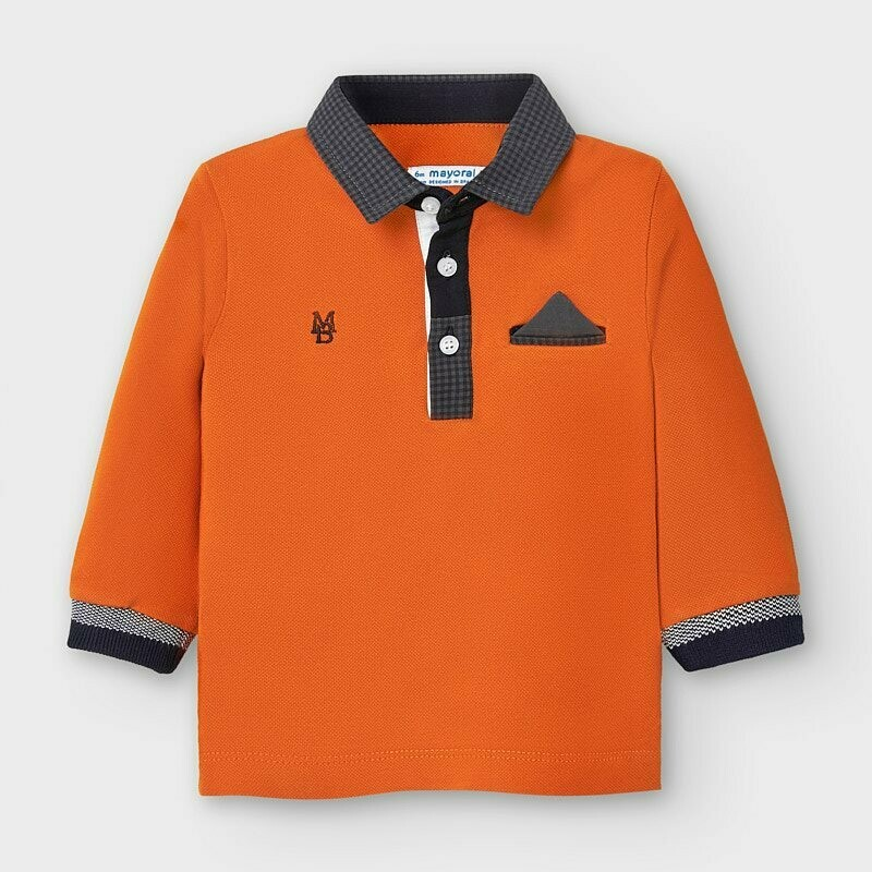 Mayoral Boys Polo Shirt (2121)