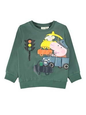Name It Boys Peppa Pig Sweatshirt M(13186249)