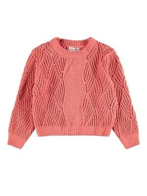 Name It Girls Cropped Knit Jumper K(13185639)