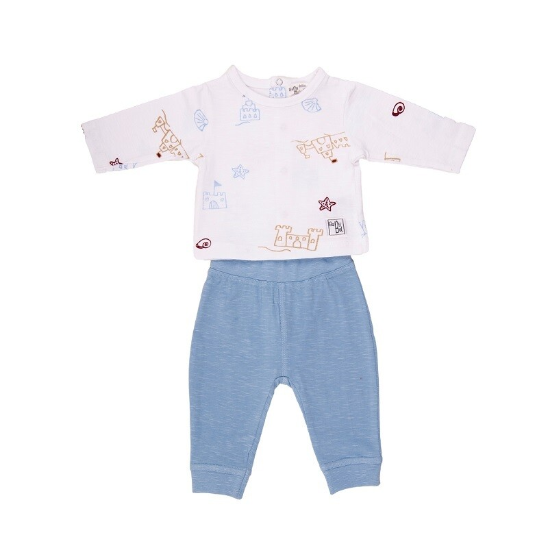 Babybol Blue Seaside 2Piece Set (11811)