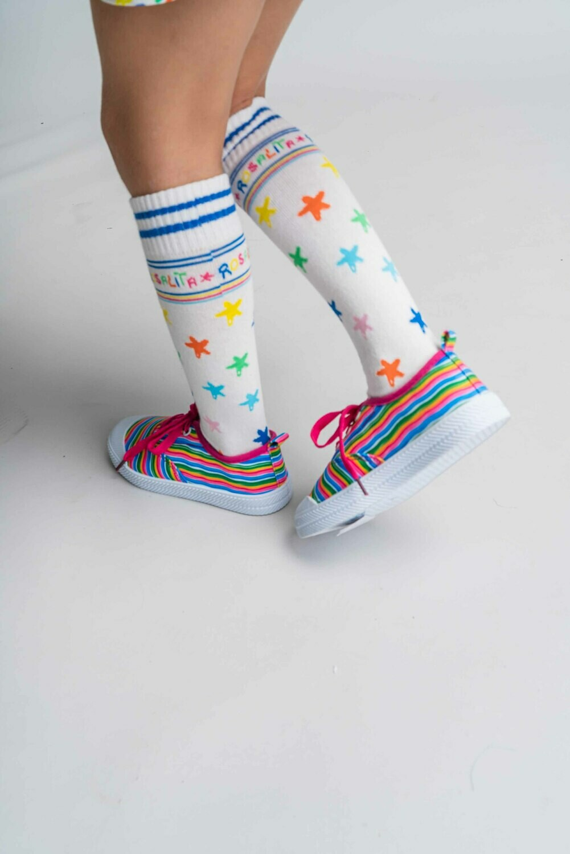 Rosalita Senoritas Whitefield Knee Socks