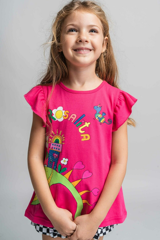 Rosalita Senoritas Danforth Tshirt/Tunic