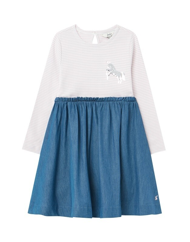 Joules Girls Hampton Dress (214114)