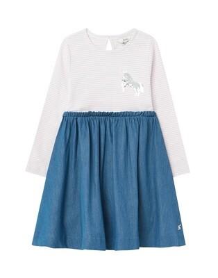 Joules Girls Hampton Dress (214114)