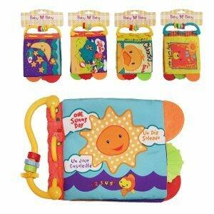 Baby Crinkle Book Teething Toys