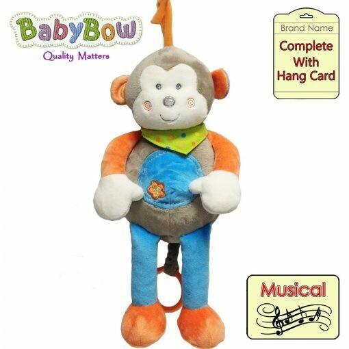 Baby Musical Pram/Crib Toy BB6