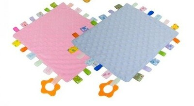 Baby Comforter with Teething Ring