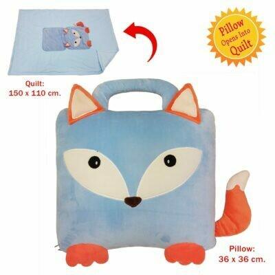 Owl/Fox Quillow