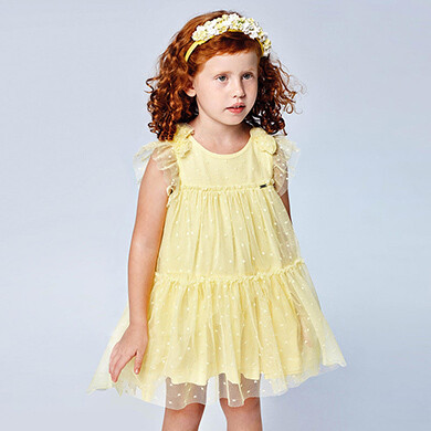 Mayoral Girls Dress (3913)