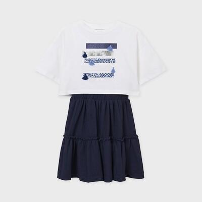 Mayoral Girls 2 Piece Dress (6931)