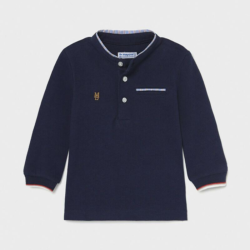 Mayoral Boys Grandad Shirt (1111)
