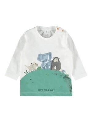 Name It Baby Boys LS T-Shirt (13186233)