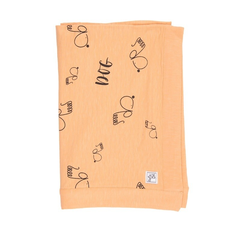 Babybol Orange Dog Blanket (00220)