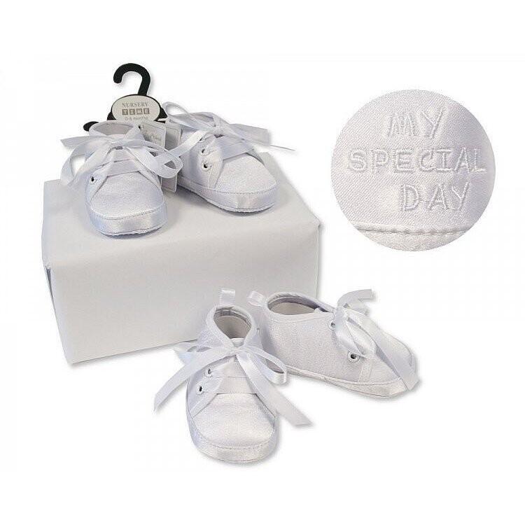 Nursery Time Baby Boys Booties (816)