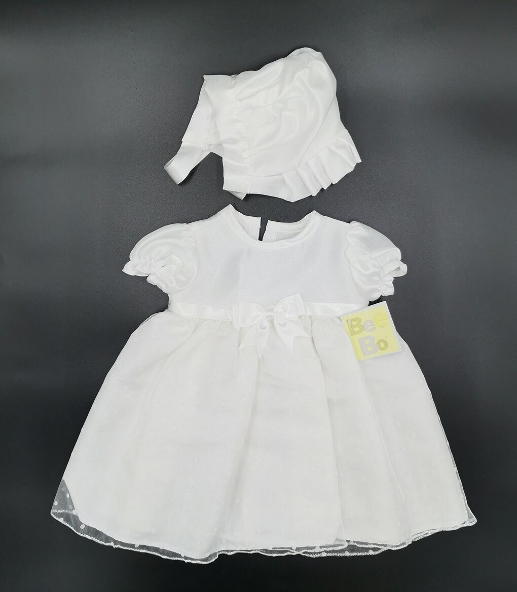 Bee Bo Short Length Christening Dress