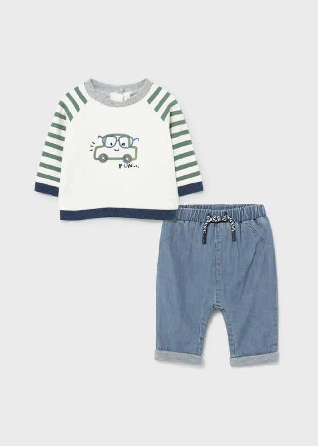 Mayoral Baby Boys 2 Piece Set (2517)