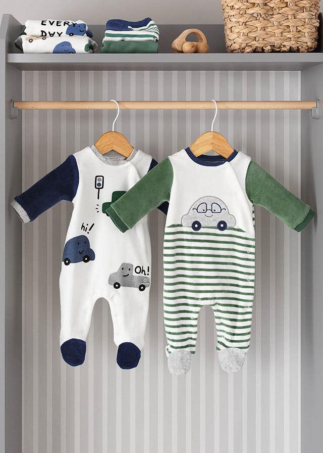 Mayoral Baby Boys Babygrow (2685)