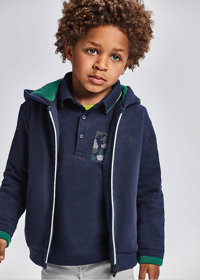 Mayoral Boys Hooded Sweatshirt (4425)