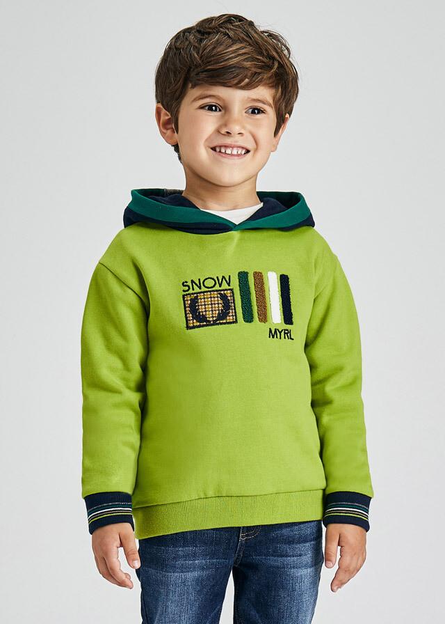 Mayoral Boys Hooded Sweatshirt (4403)