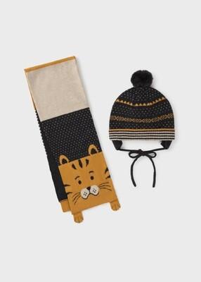 Mayoral Boys Hat & Scarf Set (10104)