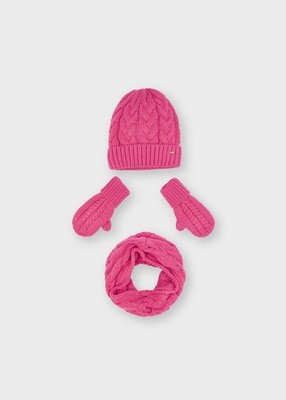 Mayoral Girls Hat & Scarf Set (10156)